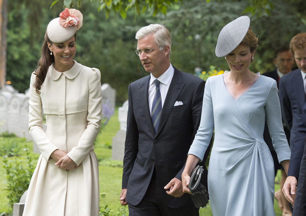 Will and Kate Bring Out the Royal Charm in Belgium