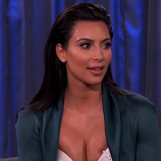 Kim Kardashian Wedding Day Interview Jimmy Kimmel Live