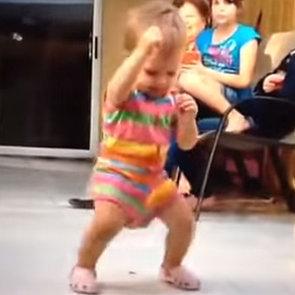 Baby Stanky Leg Dancing Video