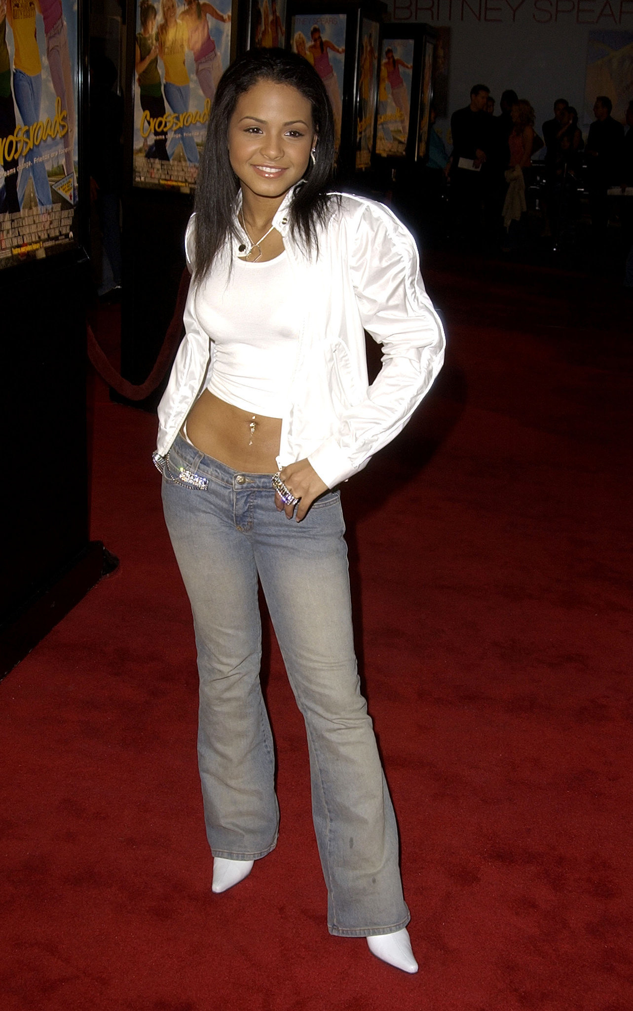 So did Christina Milian.
