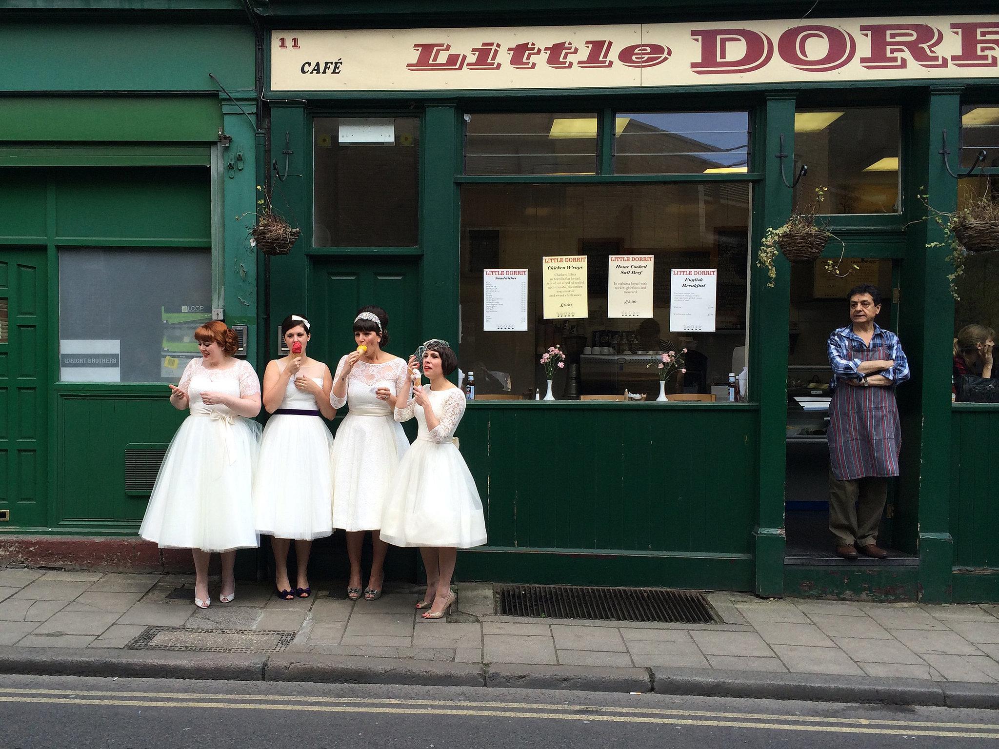 Merit Winner — Ladies in Waiting