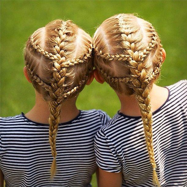 Iggy Azalea-esque Braid Ponytails