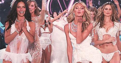When you're dancing with tall friends, you feel like a Victoria's Secret Angel.