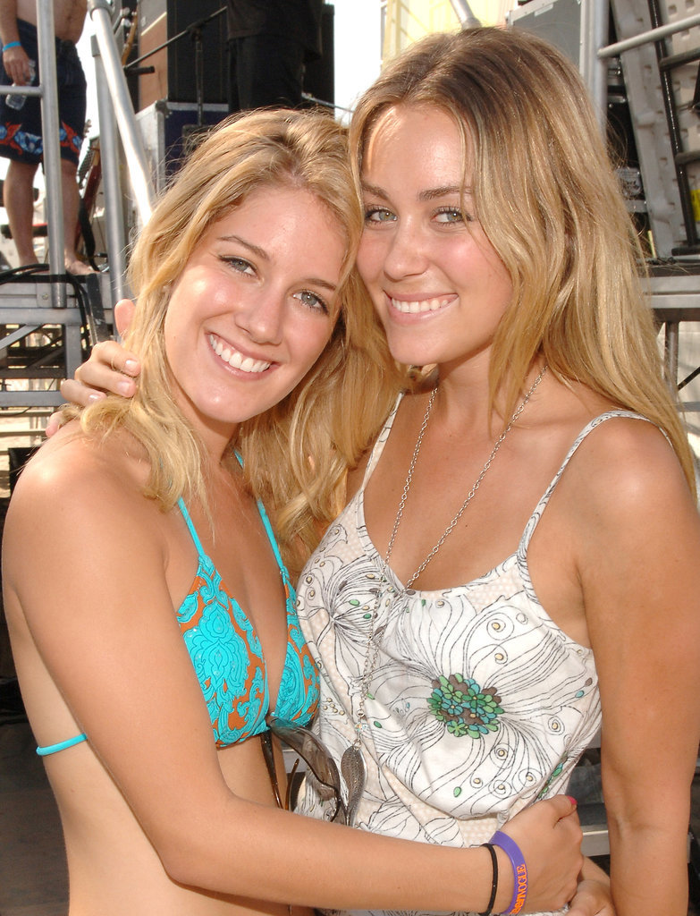 Lauren Conrad and Heidi Montag