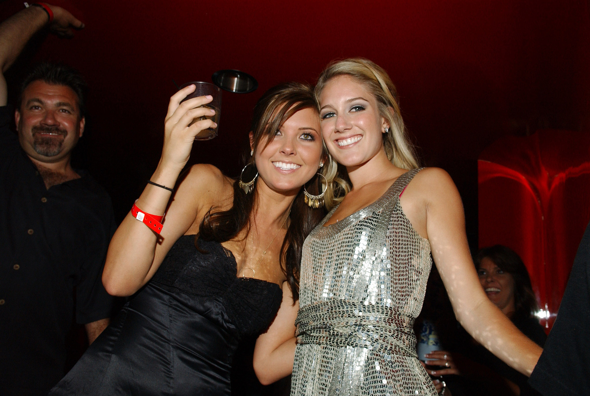 Audrina Patridge and Heidi Montag