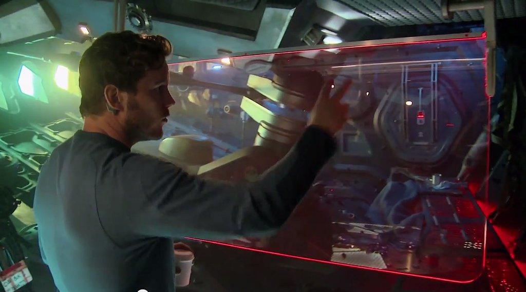 Tour the Galactic Tech of Chris Pratt's Spaceship —Cribs Style