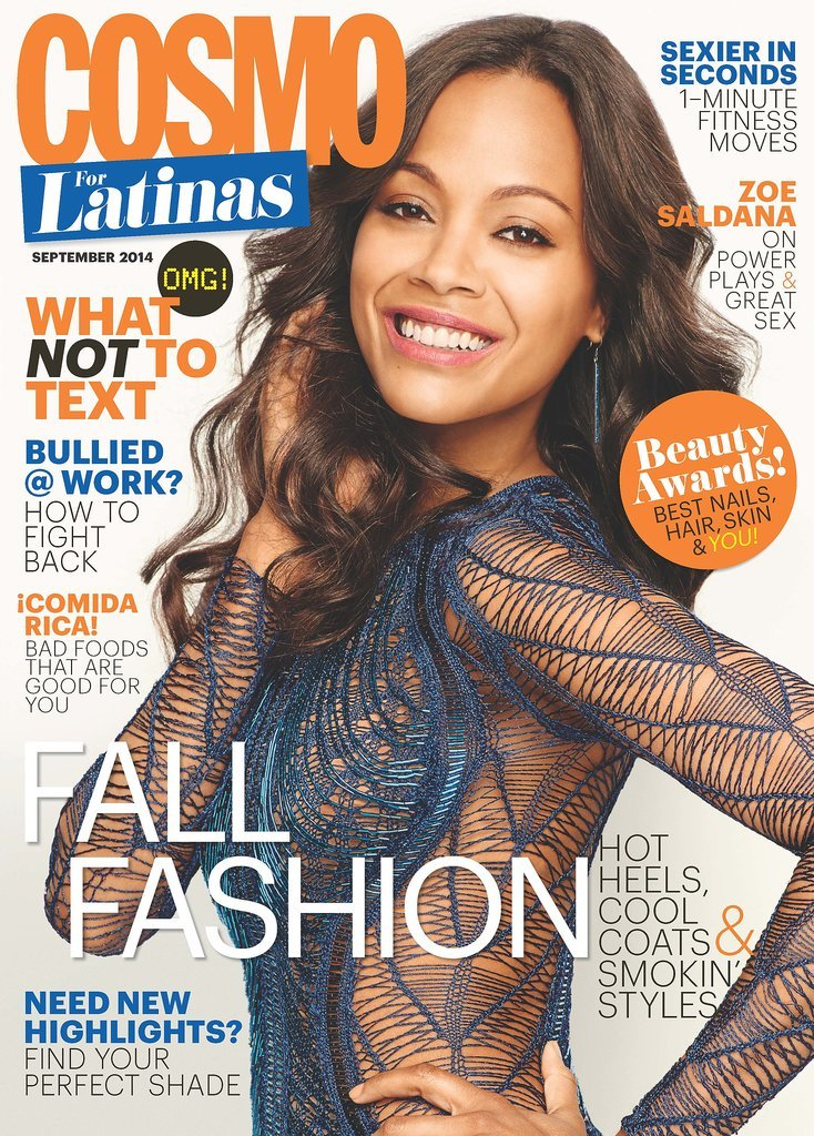 Cosmopolitan For Latinas September 2014
