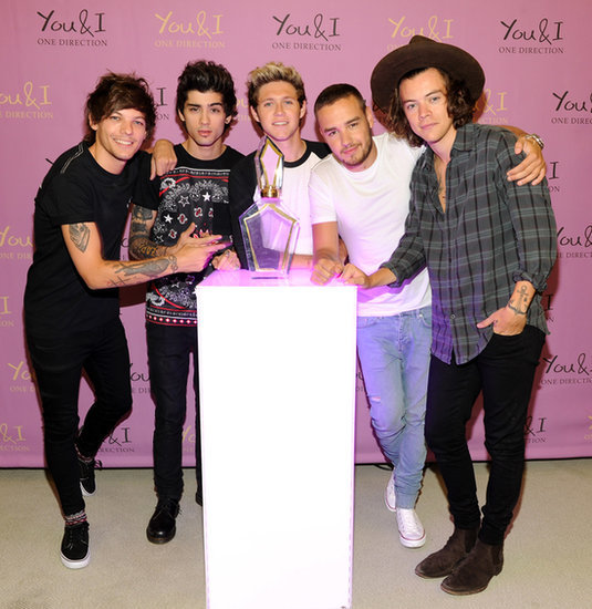 Exclusive! One Direction Chats About the Band's Sexy New Scent