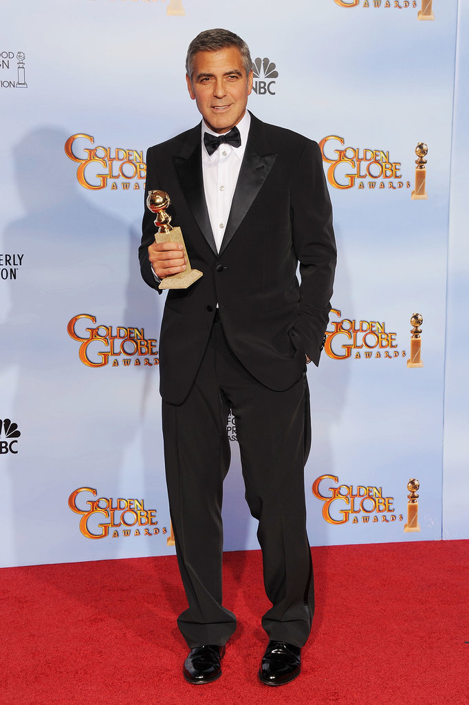 George Clooney at the 2012 Golden Globes