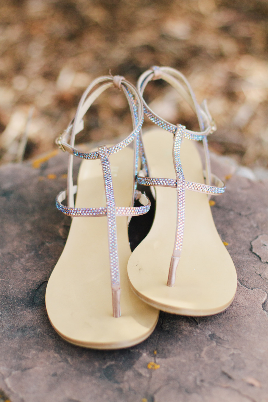 Nontraditional sandals
