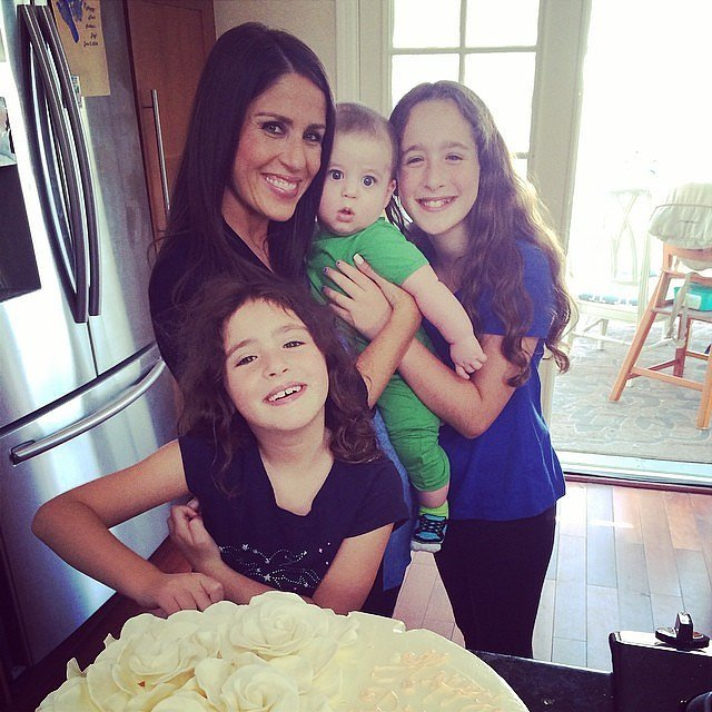 Soleil Moon Frye was surrounded by her kids — Poet, Jagger, and Lyric — for her big birthday. Source: Instagram user moonfrye