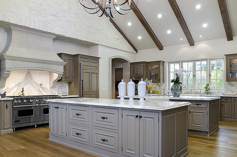The kitchen's professional-grade oven and plenty of storage will allow for gourmet cooking.  Source: Zillow