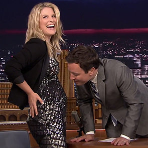 Ali Larter Announces She's Pregnant on The Tonight Show