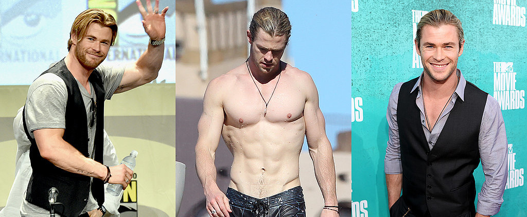 Photographic Proof That Chris Hemsworth Has Always Been Sexy