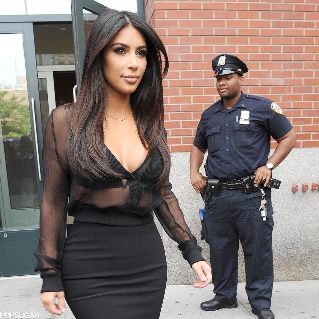 These Cops Totally Just Checked Out Kim Kardashian