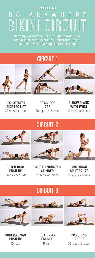 Do-Anywhere Bikini Circuit