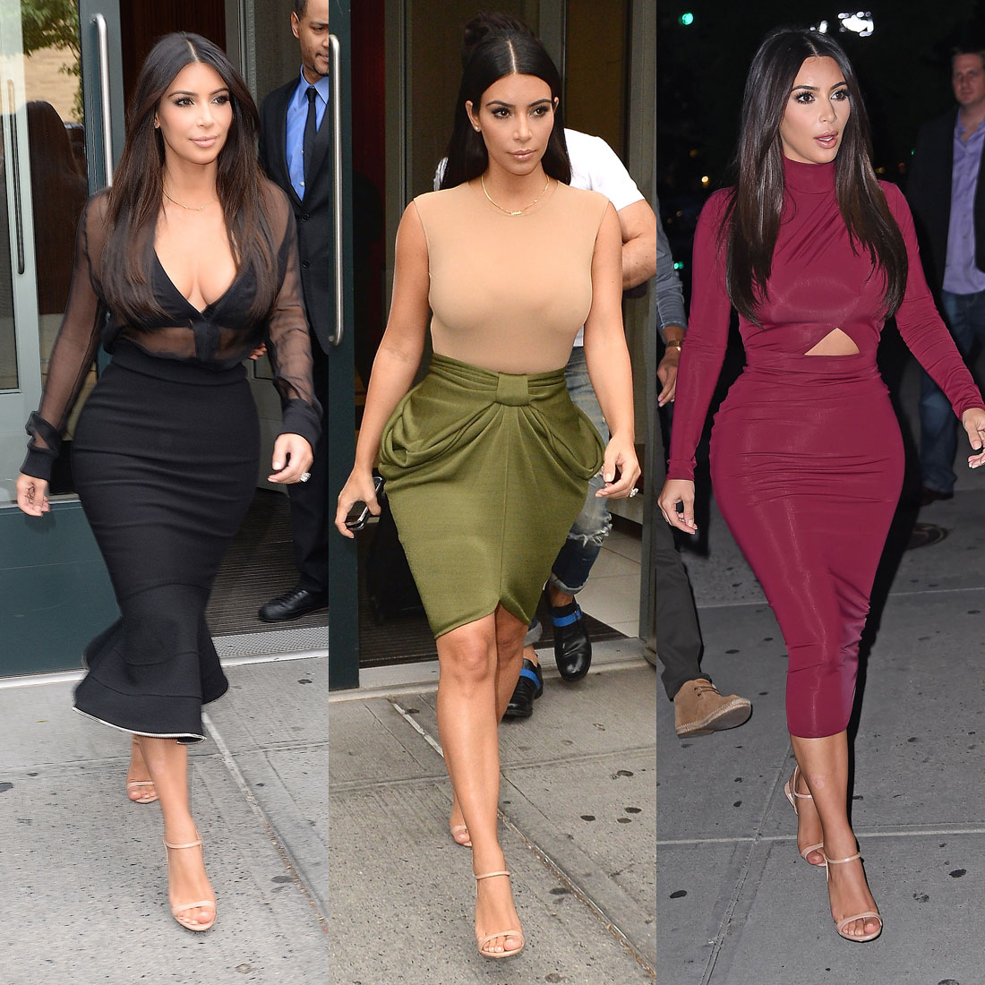 Which of Kim's Outfit Mullets Is Your Favorite?
