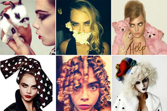 23 Photos That Crown Cara Delevingne the Queen of Beauty Instagrams