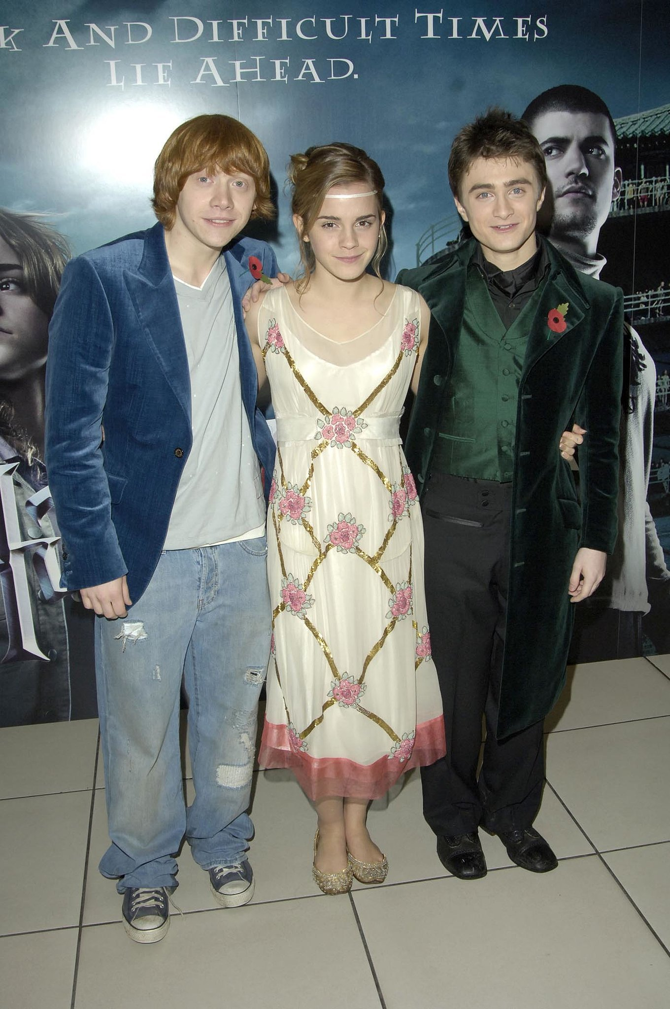 Harry Potter and the Goblet of Fire Premiere  2005 The Goblet Of Fire 2005