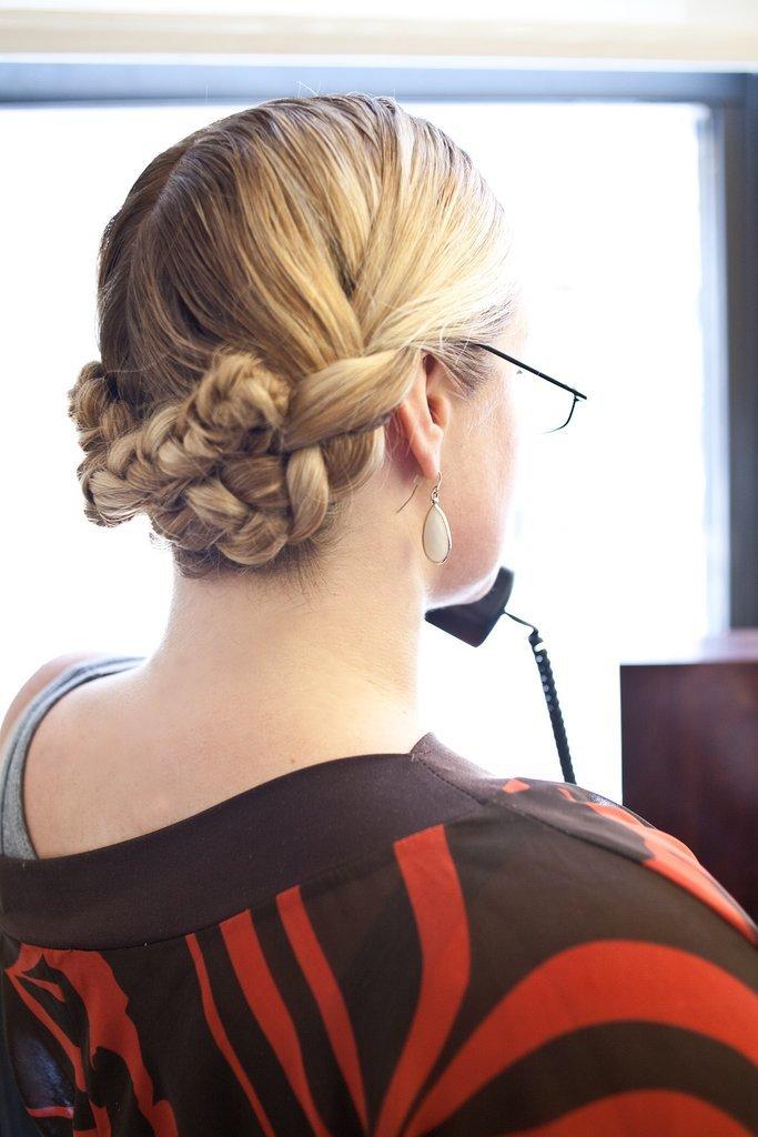 The Reverse Milkmaid Braid