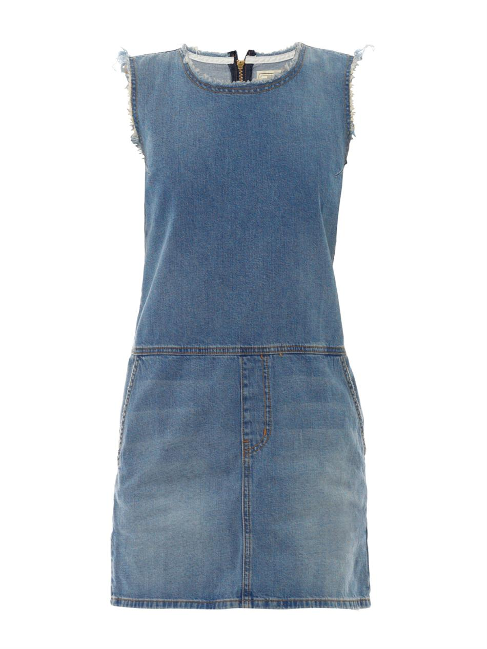 Current/Elliott The Shift Denim Dress