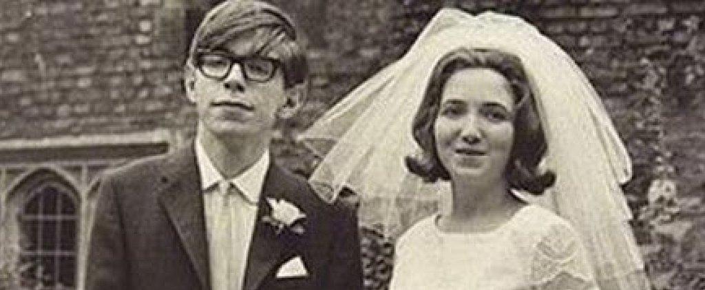See Stephen Hawking's Wedding Photo That Eddie Redmayne and Felicity Jones Re-Created
