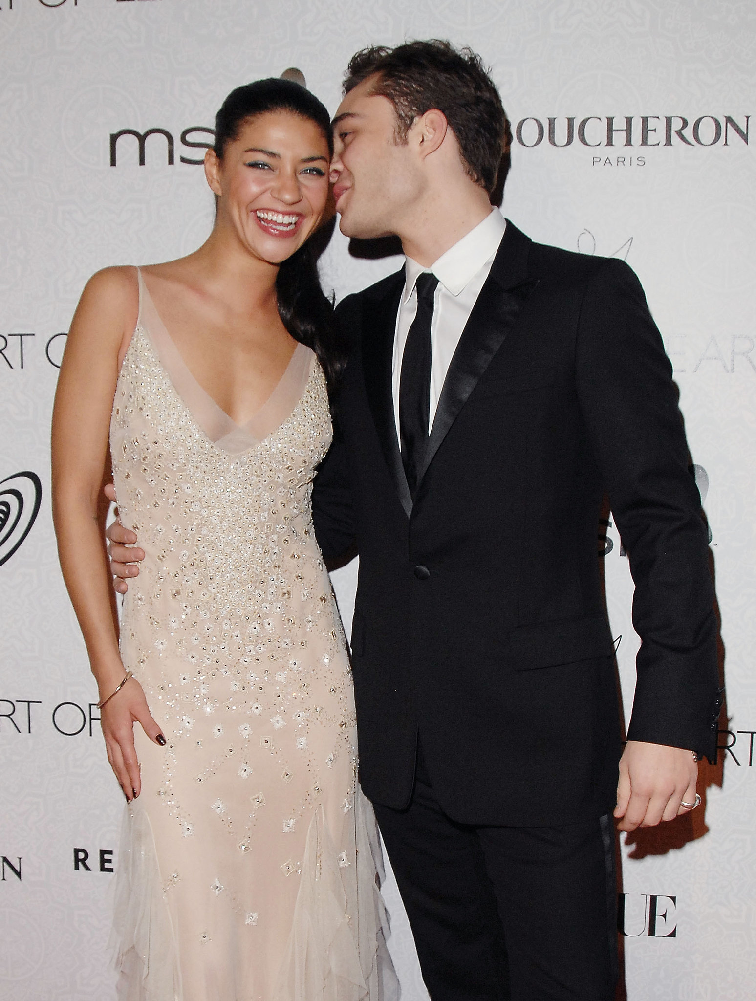 jessica szohr and ed westwick 25 cw costars who hooked