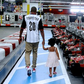 Beyonce, Jay Z, and Blue Ivy Go-Cart Racing | Pictures