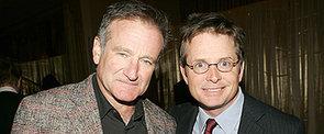"Michael J. Fox ""Stunned"" Over News of Robin Williams' Parkinson's Diagnosis"