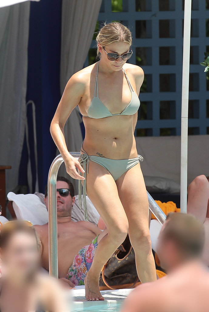 LeAnn Rimes got some pool time in Miami in July 2014.