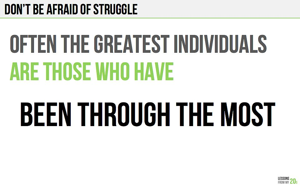 This Is Why You Should Embrace Struggle
