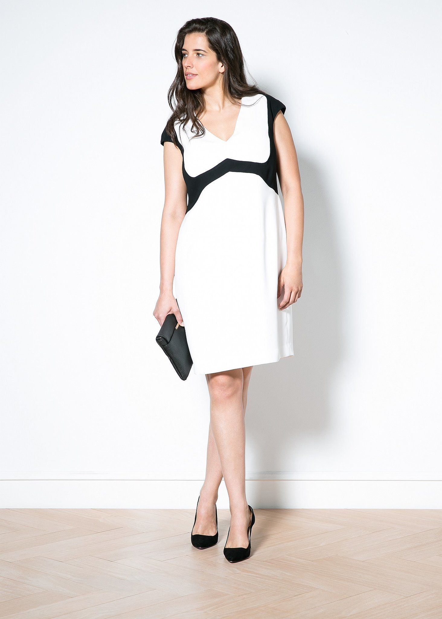 Violeta Contrast Dress