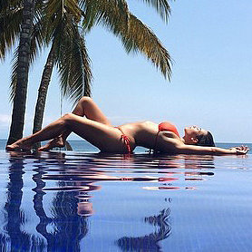 Kim Kardashian's Bikini Instagram Pictures