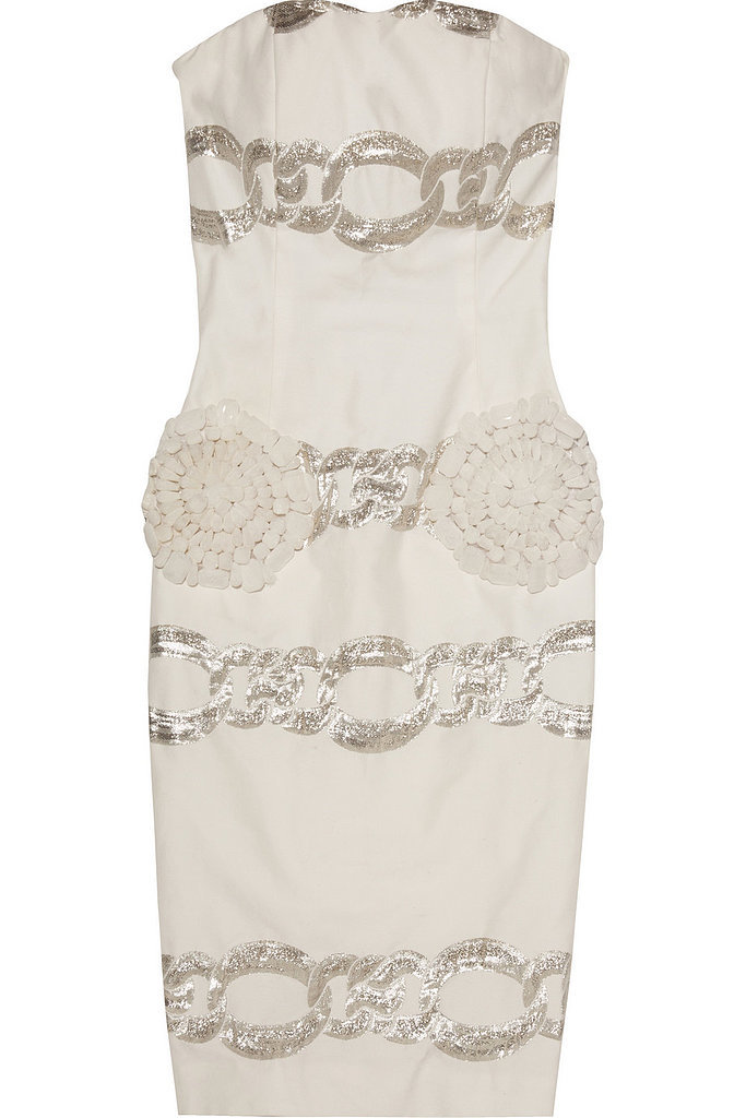 Giambattista Valli Embellished Twill Dress