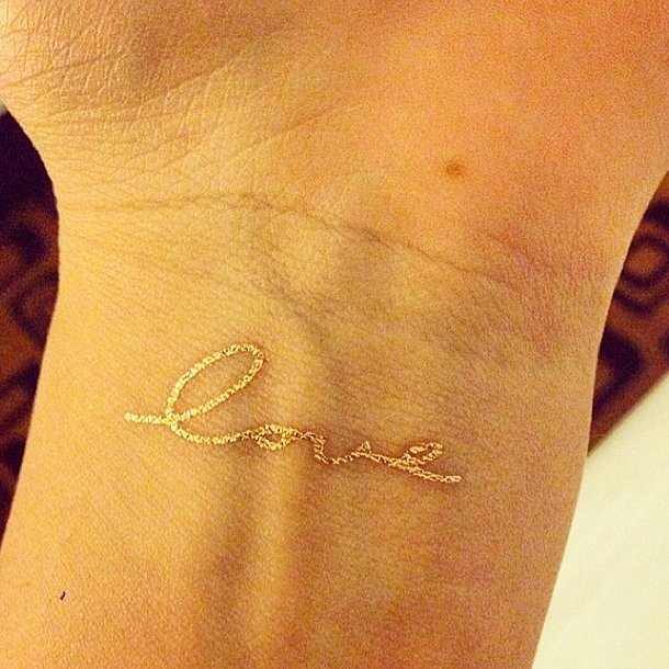 Temporary flash tattoos pictures popsugar beauty australia for How to make a fake tattoo look real