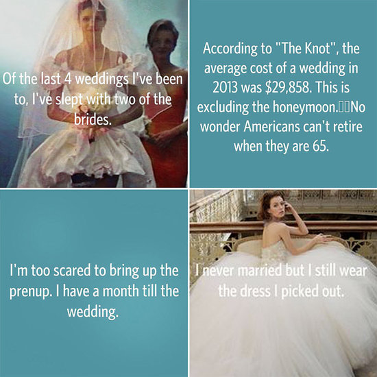 Shocking and Heartwrenching Wedding Confessions