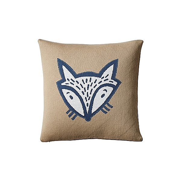 Fox Throw-Pillow Cover