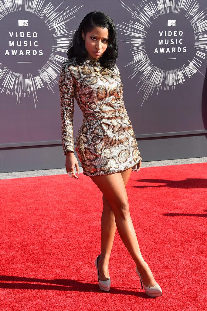 Nicki Minaj at the 2014 MTV VMAs
