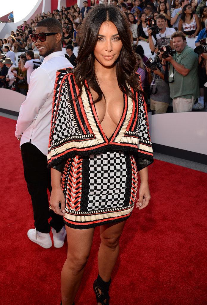 The Kardashians Dominate the VMAs Red Carpet