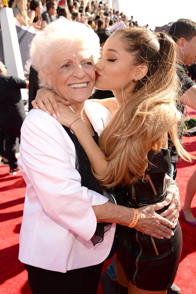 Ariana Grande and Her Grandma