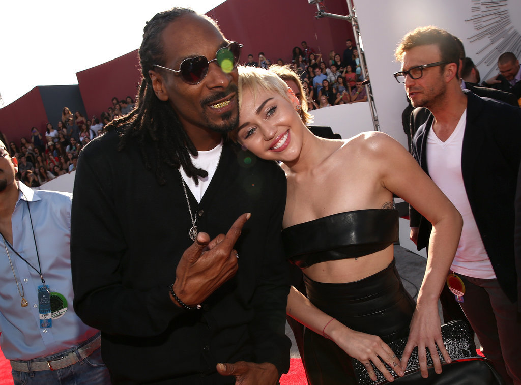 Snoop Dogg and Miley Cyrus