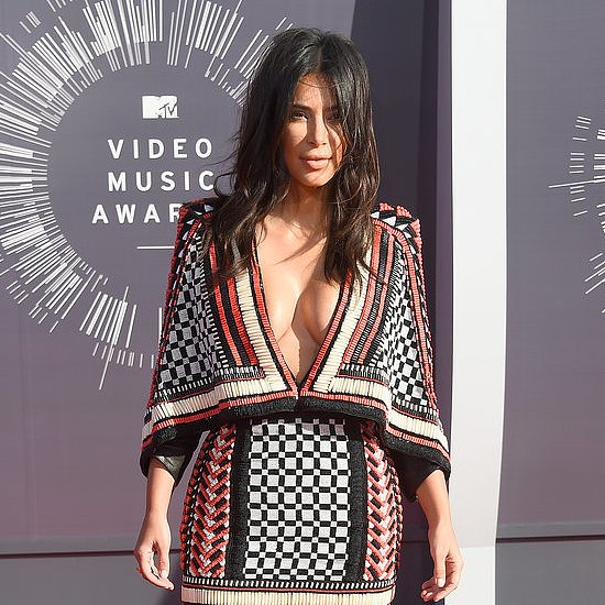 Kim Kardashian's Dress at the MTV VMAs 2014