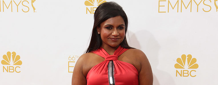 Can Mindy Kaling's Red-Hot Look Make Our Best Dressed List?