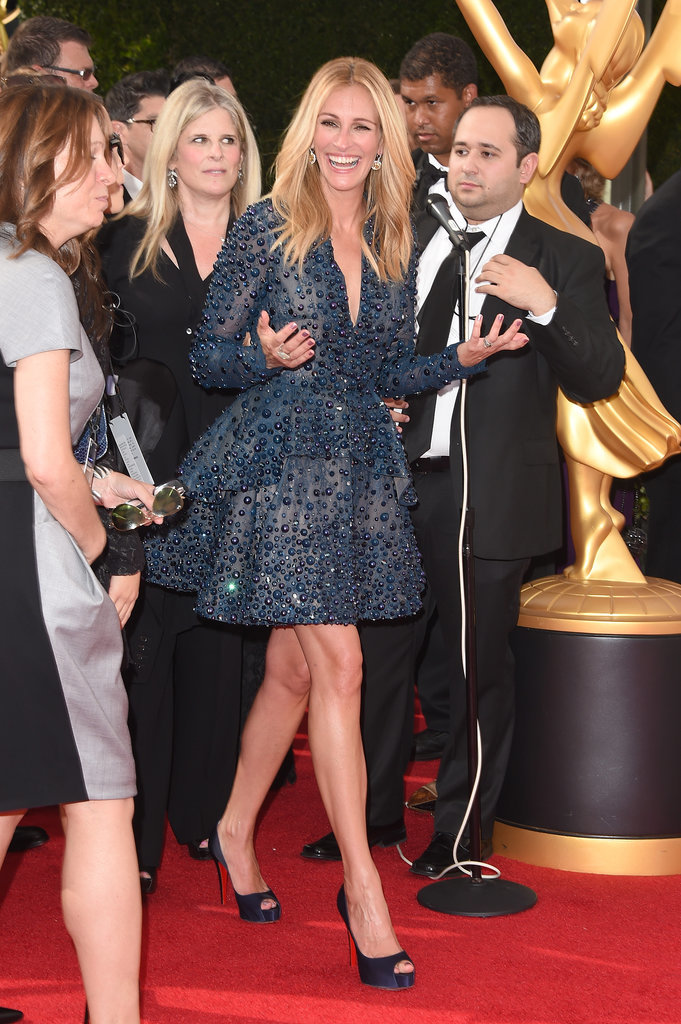 Are You Loving Julia Roberts's Short Elie Saab Dress as Much as She Is?