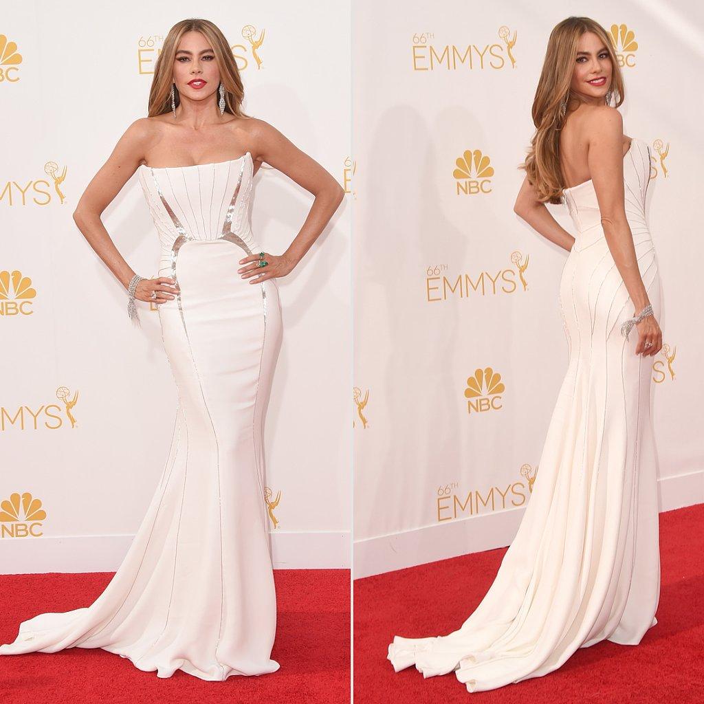 Sofia Vergara's Roberto Cavalli Dress at Emmys 2014