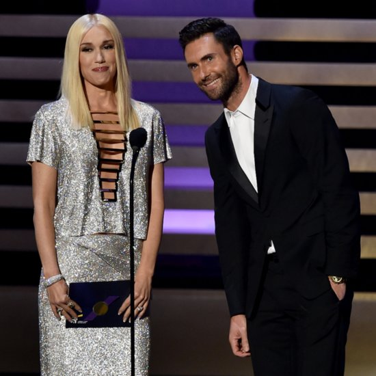 Gwen Stefani Mispronounces Stephen Colbert's Name at Emmys