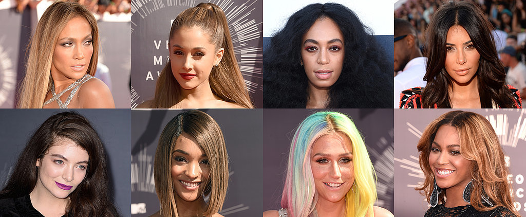 Every Head-Turning Hollywood Hair and Makeup Look From the MTV VMAs
