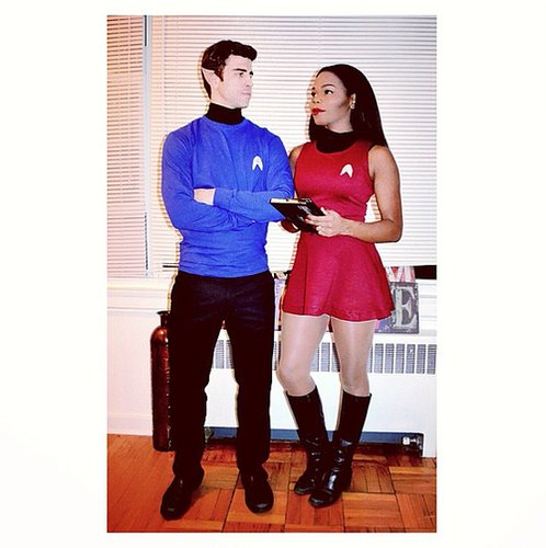 Star Trek Spock and Uhura