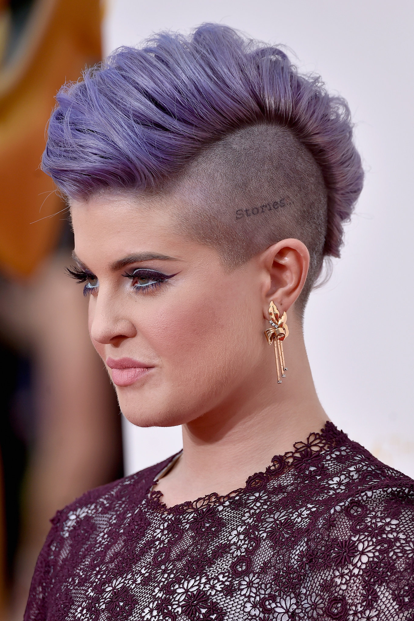 Kelly Osbourne See Every Dazzling Hair And Makeup Look