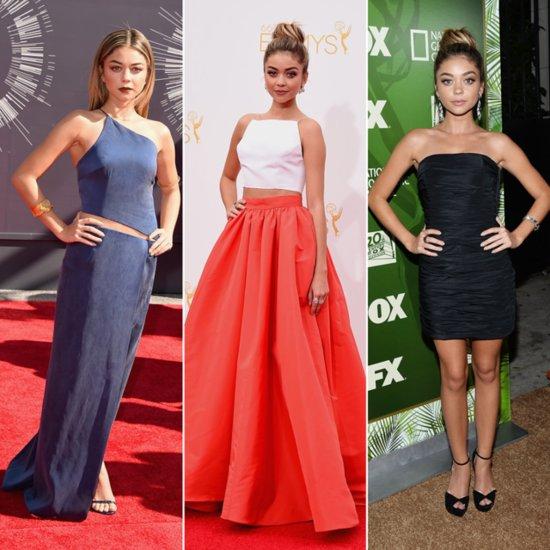Sarah Hyland Dress at Emmys and MTV VMAs 2014